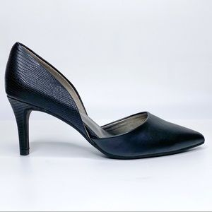 Bandonlino D'Orsay Heels Gingere Pointed Toe Black